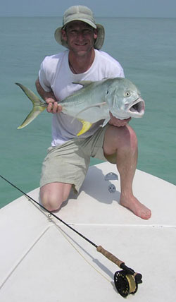 fly fishing on the Key West flats